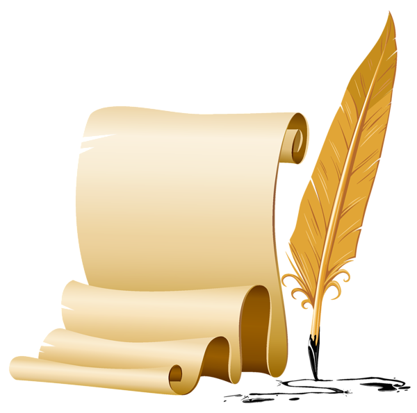 Scroll and quill clipart clipart free download Scroll and quill clipart clipart images gallery for free ... clipart free download