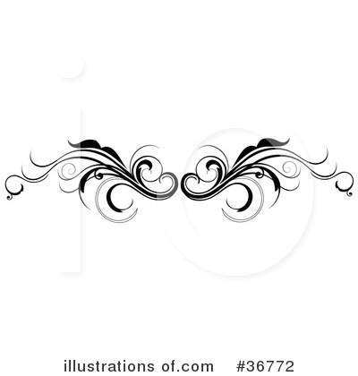 Scroll artwork clipart clipart royalty free stock Scroll Clipart #36772 - Illustration by OnFocusMedia clipart royalty free stock