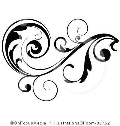 Scroll artwork clipart image black and white library Free Clip Art Borders Scroll   Clipart Panda - Free Clipart Images image black and white library