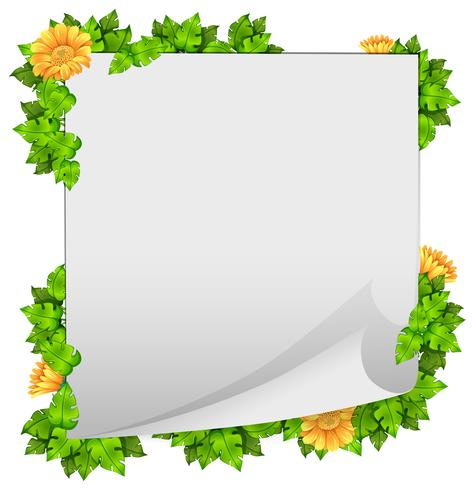 Scroll frames clipart border with watercolor ivy image black and white Flower and leaf border frame - Download Free Vectors ... image black and white