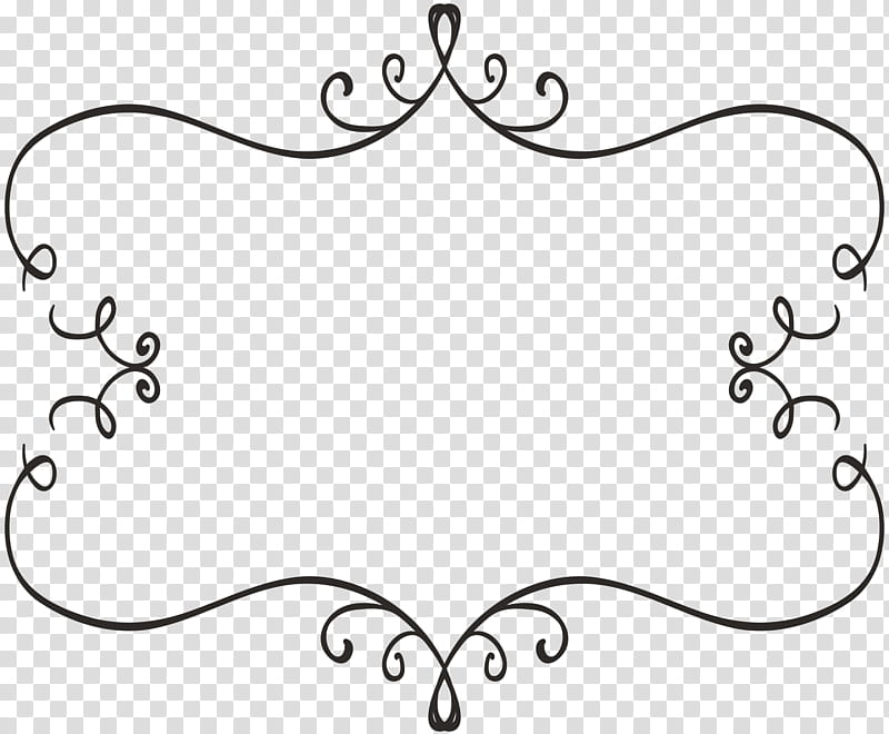 Scroll motif clipart graphic royalty free download Freebie Decorative Elements, black scroll boarder ... graphic royalty free download