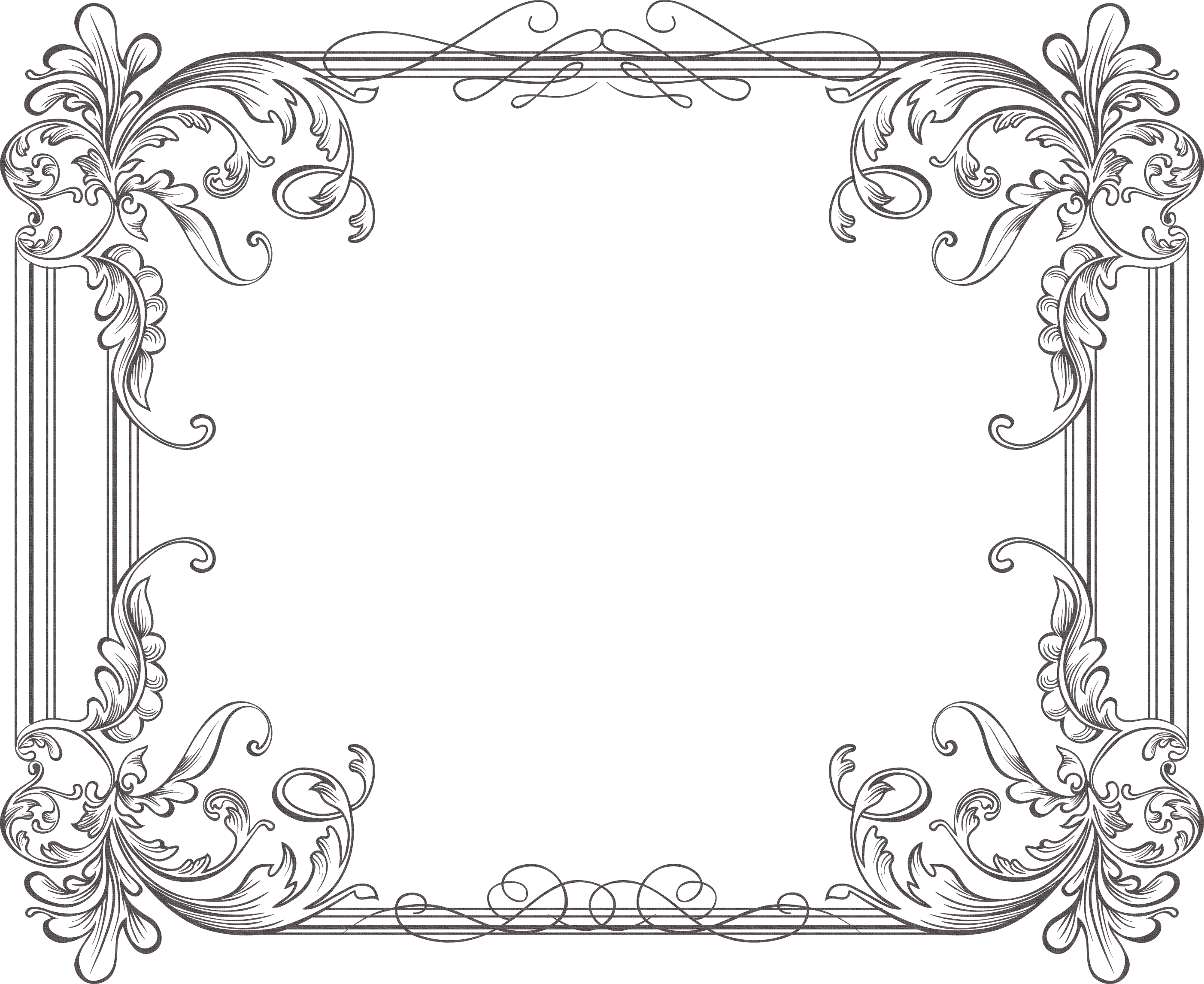 Scrollwork money corner clipart vector free download Pin by Mary Barnes-Ekobena on Assorted Frames for Artwork/Journaling ... vector free download