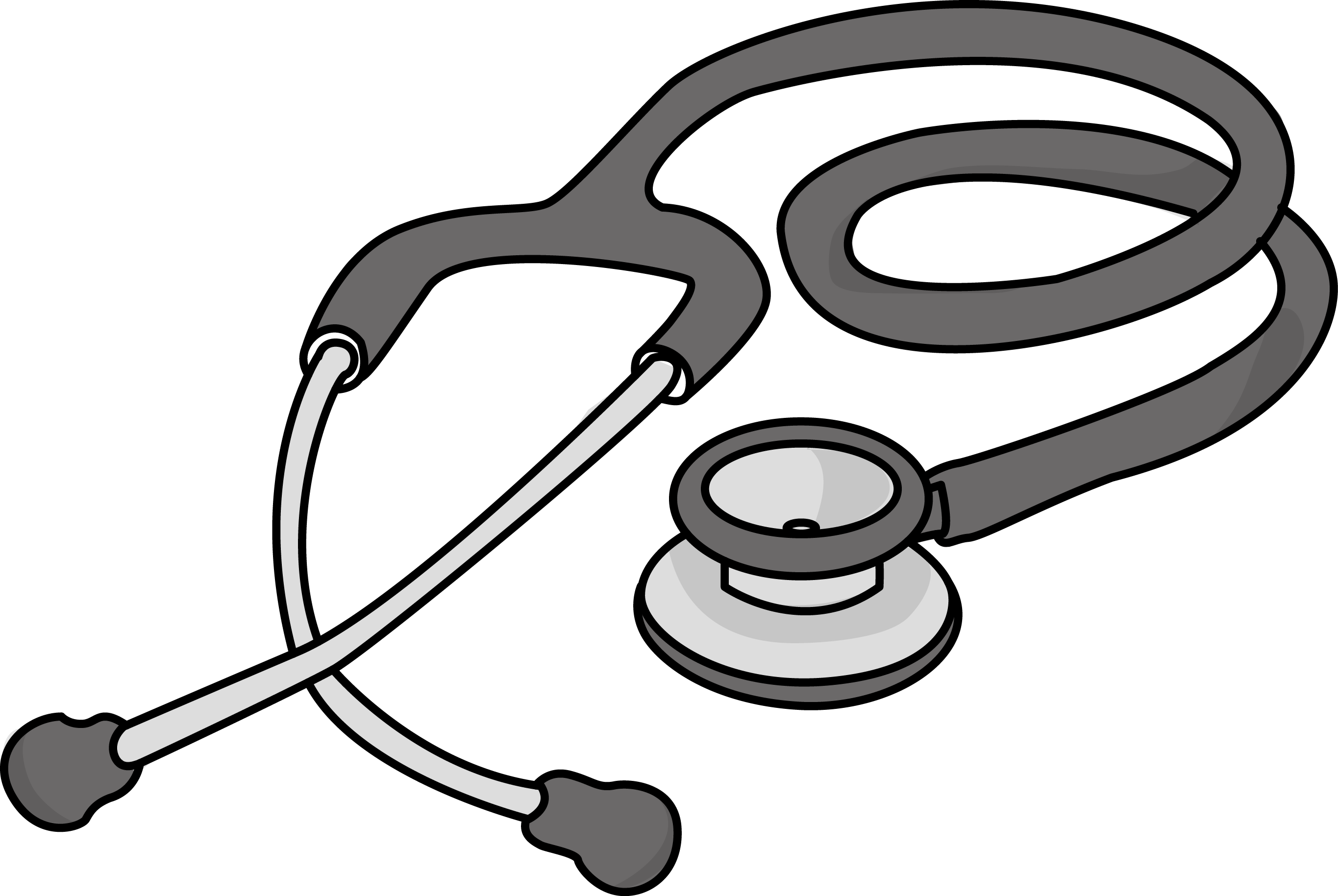 Doctor stethoscope clipart free for cellphone contacts clip art library Free cardiology stethoscope health high resolution clip art ... clip art library