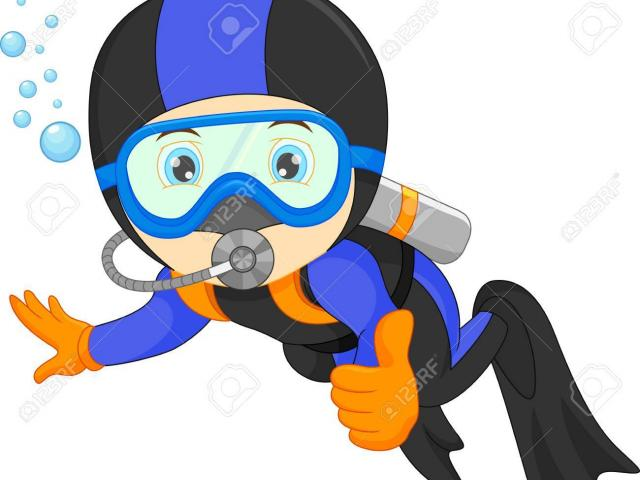 Scuba diver cartoon clipart image free library Free Scuba Diver Clipart, Download Free Clip Art on Owips.com image free library