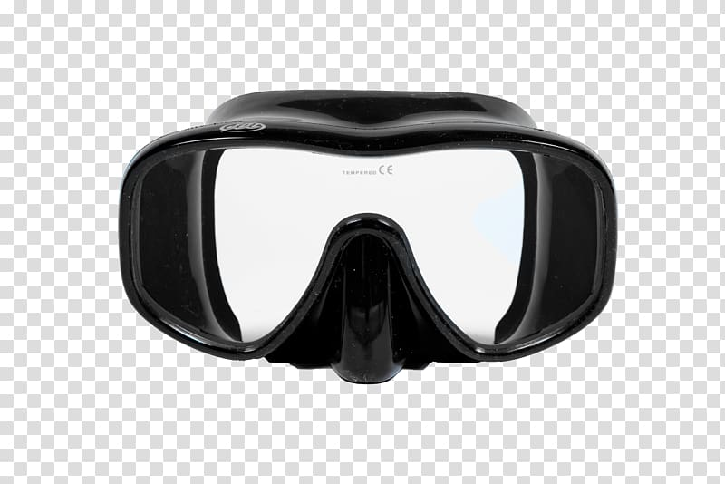Diving mask clipart clip black and white download Black snowboard goggles, Diving & Snorkeling Masks Scuba ... clip black and white download