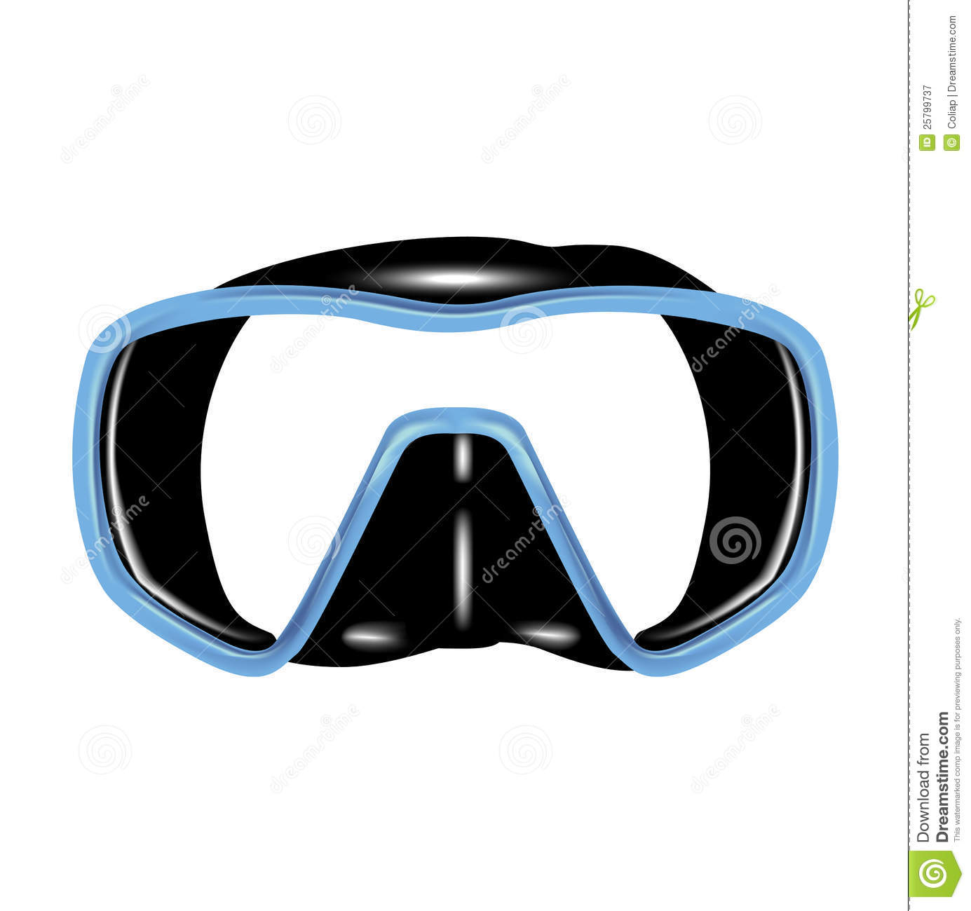 Scuba mask clipart freeuse download Scuba mask clipart 1 » Clipart Station freeuse download