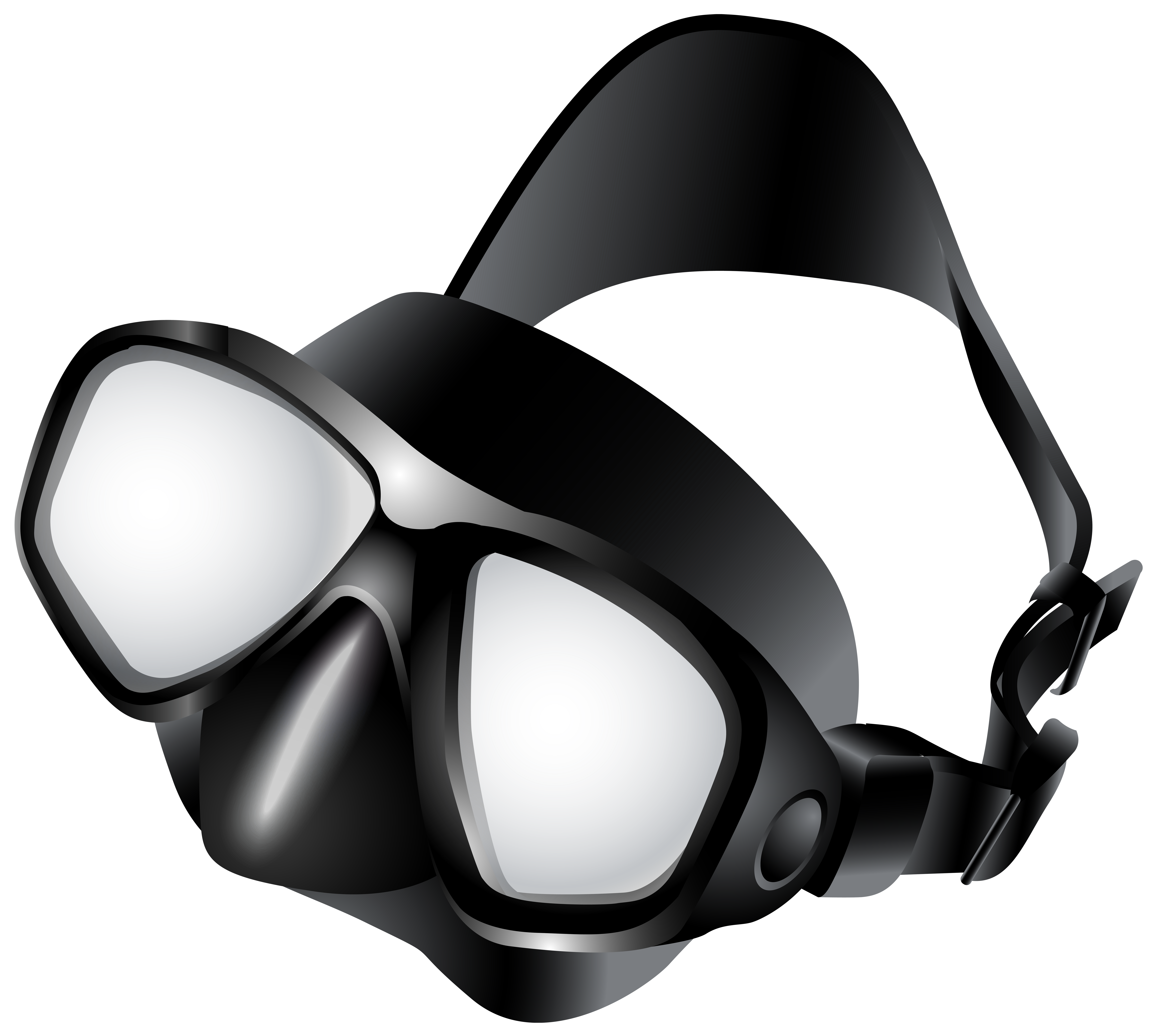 Scuba mask clipart black and white download Dive Mask PNG Clip Art - Best WEB Clipart black and white download