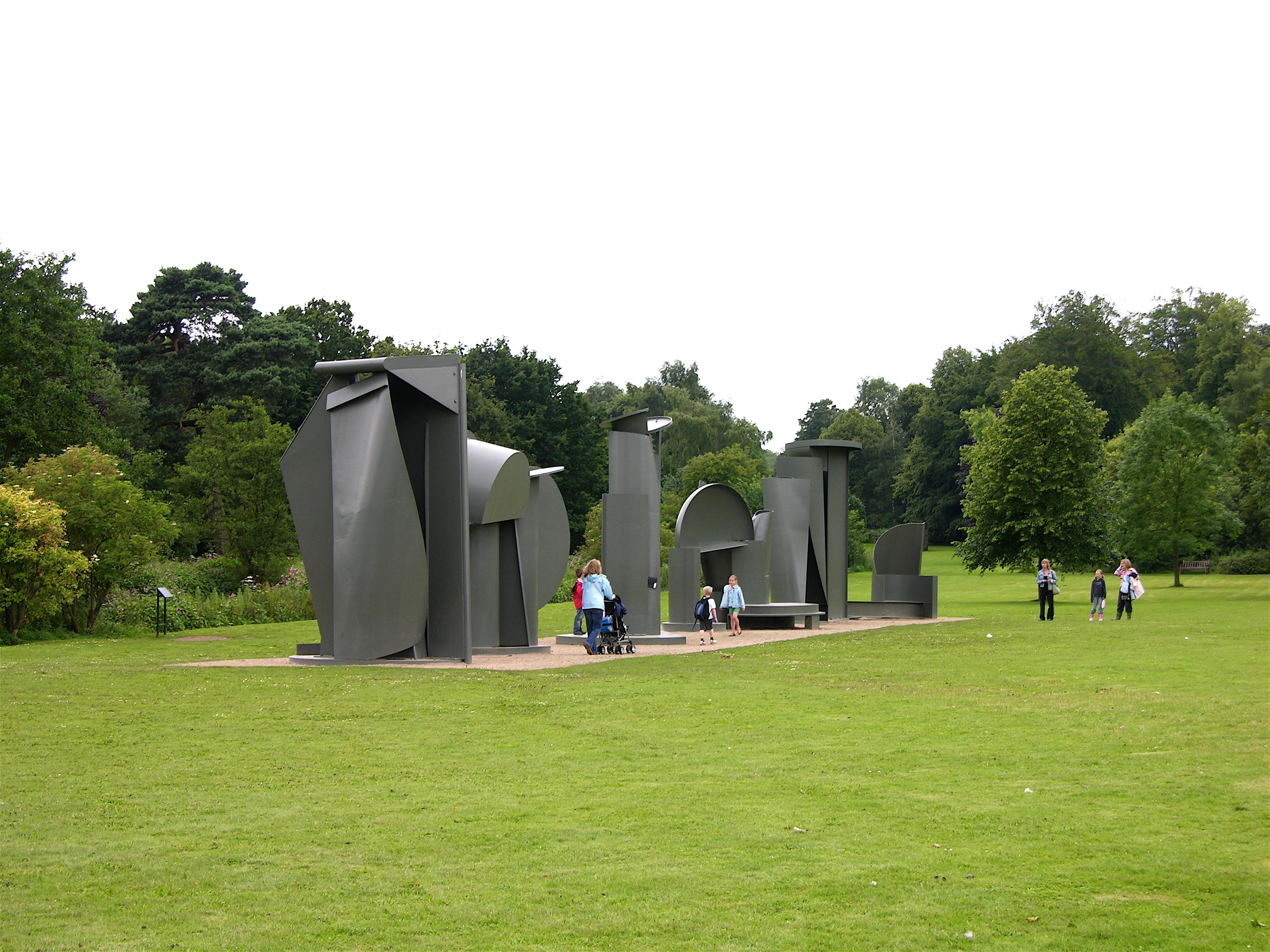 Sculpture park image library download File:Yorkshire Sculpture Park Caro Promenade.jpg - Wikimedia Commons image library download