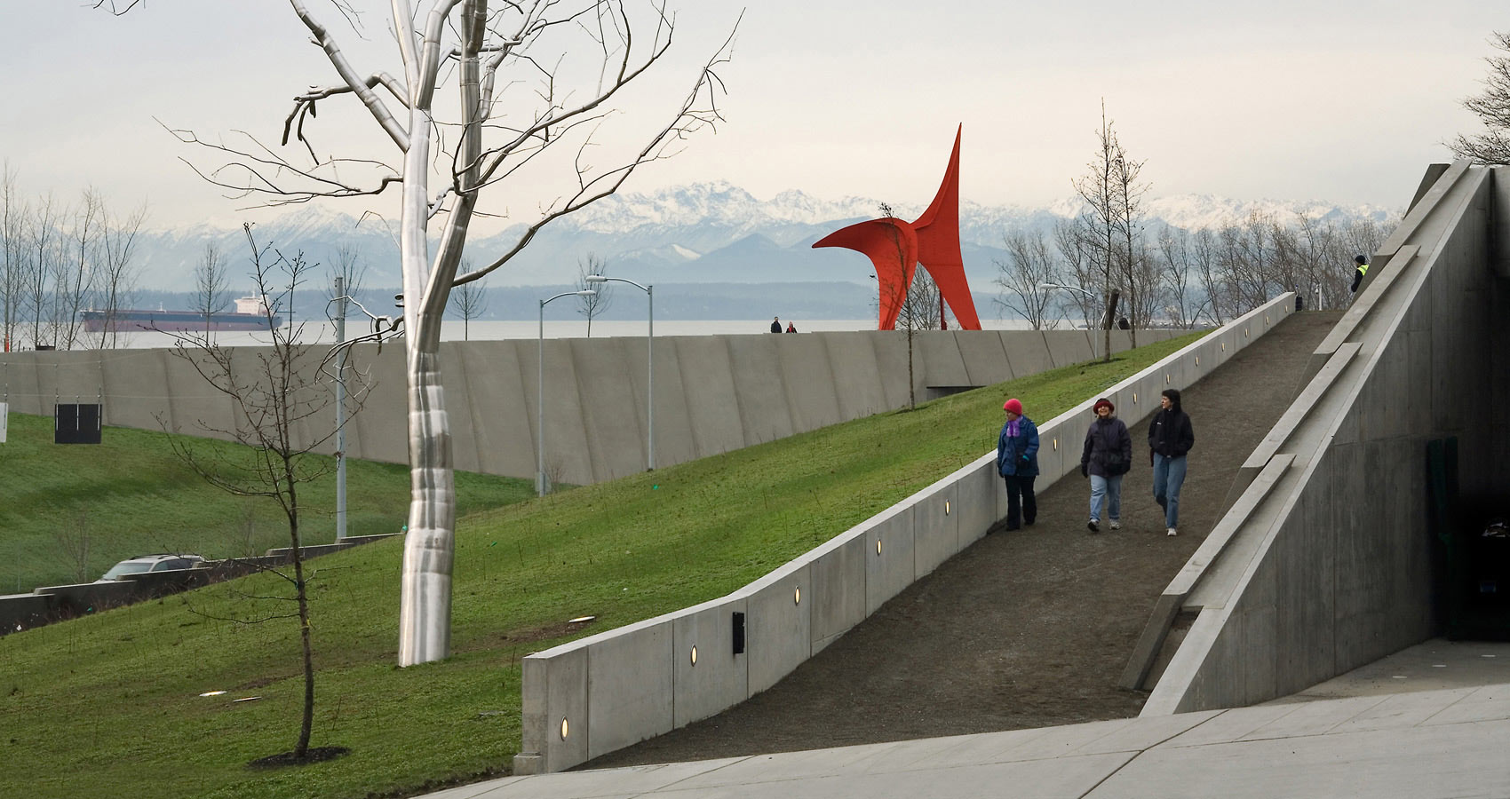 Sculpture park image library library Weiss/Manfredi: Seattle Art Museum: Olympic Sculpture Park image library library