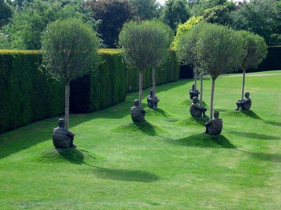 Sculpture park svg transparent download Plensa Trees - Picture of Yorkshire Sculpture Park, Wakefield ... svg transparent download