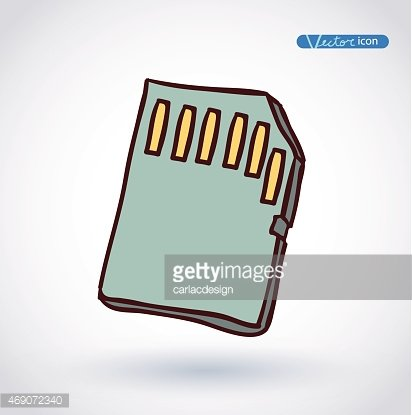 Sd card icon clipart svg free library Micro SD Card Icon premium clipart - ClipartLogo.com svg free library