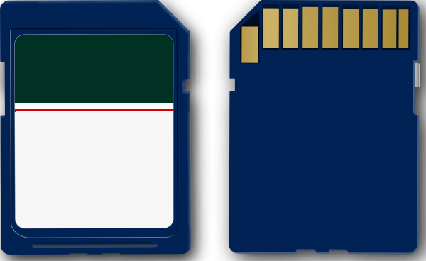 Sd card icon clipart royalty free library Sd Card Clip Art at Clker.com - vector clip art online ... royalty free library
