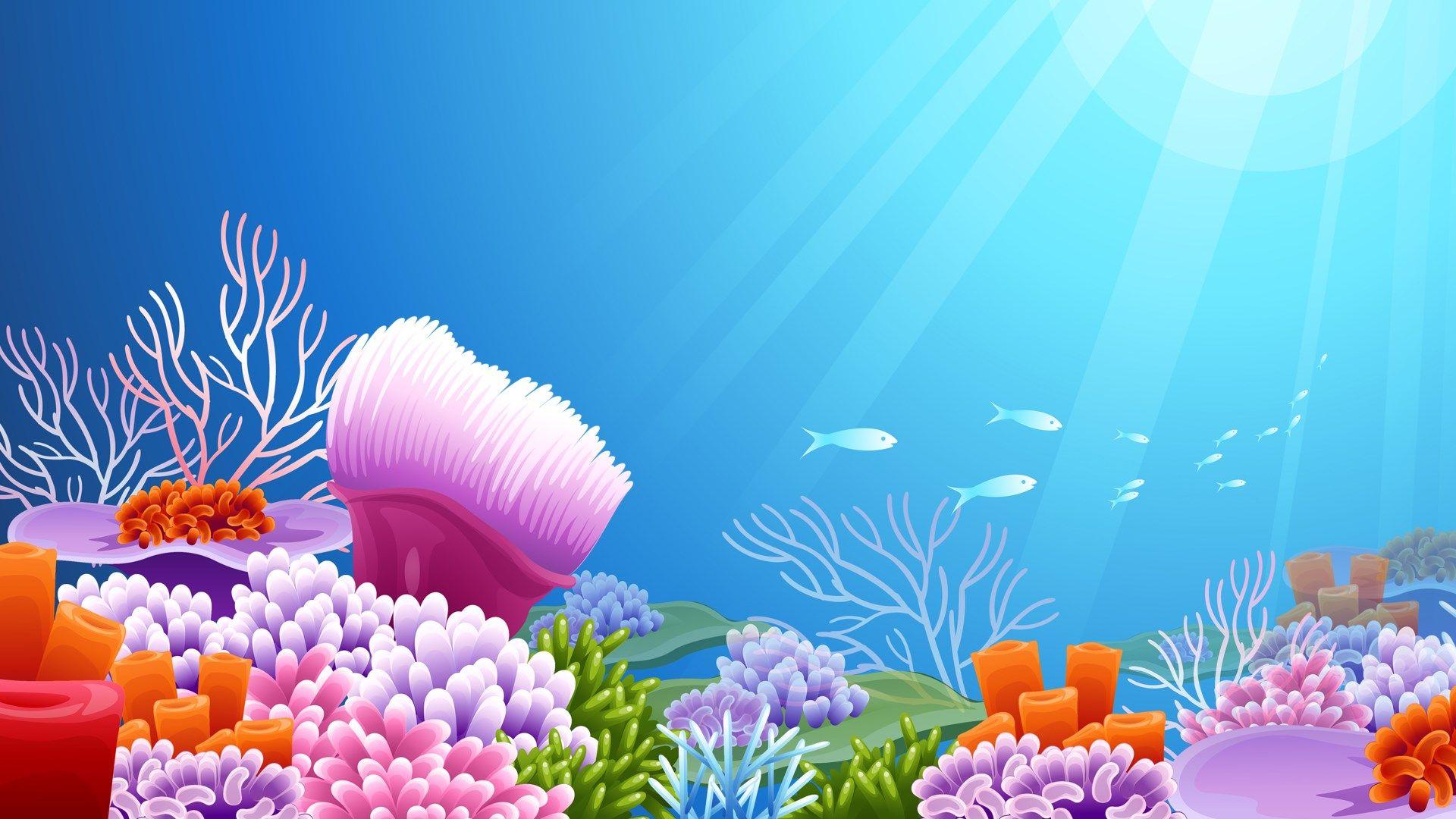 Sea background clipart free vector underwater free computer wallpaper | ololoshenka | Aquarium ... vector
