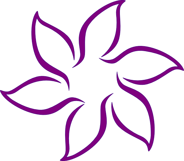 Sea flower clipart vector freeuse Lavender Flower Clip Art Free | Clipart Panda - Free Clipart Images vector freeuse