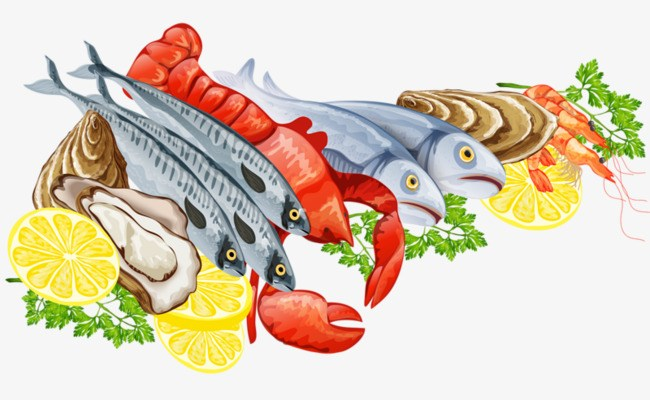 Sea food clipart banner free library Seafood clipart 2 » Clipart Portal banner free library