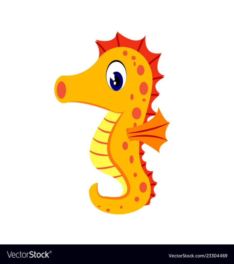 Sea horse clipart cute banner black and white stock Cute Seahorse Clipart | Wallpapers Design banner black and white stock