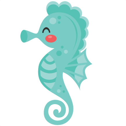 Sea horse clipart cute download Seahorse SVG scrapbook cut file cute clipart files for ... download