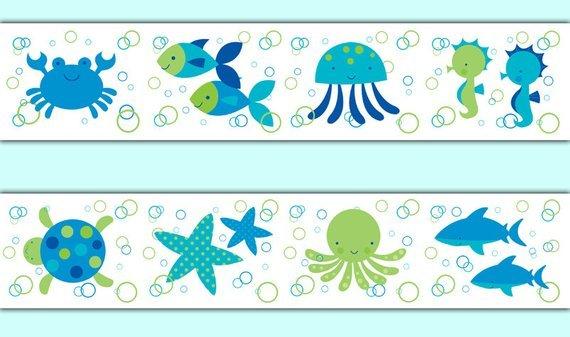 Sea life borders clipart graphic freeuse stock Sea life clipart borders 3 » Clipart Portal graphic freeuse stock