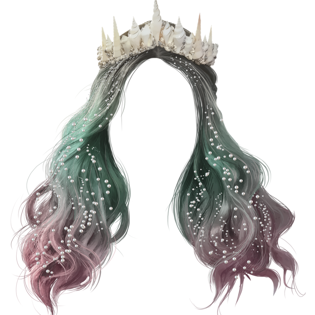 Sea shell crown clipart svg transparent stock mermaid crown - Sticker by Purrzxlla svg transparent stock