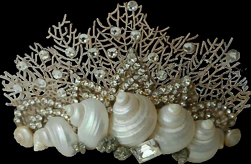 Sea shell crown clipart vector library stock mermaidcrown mermaidlife mermaid seaside crown corona... vector library stock