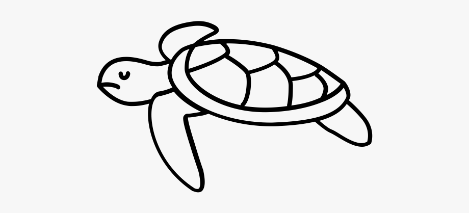 Sea turtle clipart wedding clip transparent download Line Art Of Turtles #124662 - Free Cliparts on ClipartWiki clip transparent download