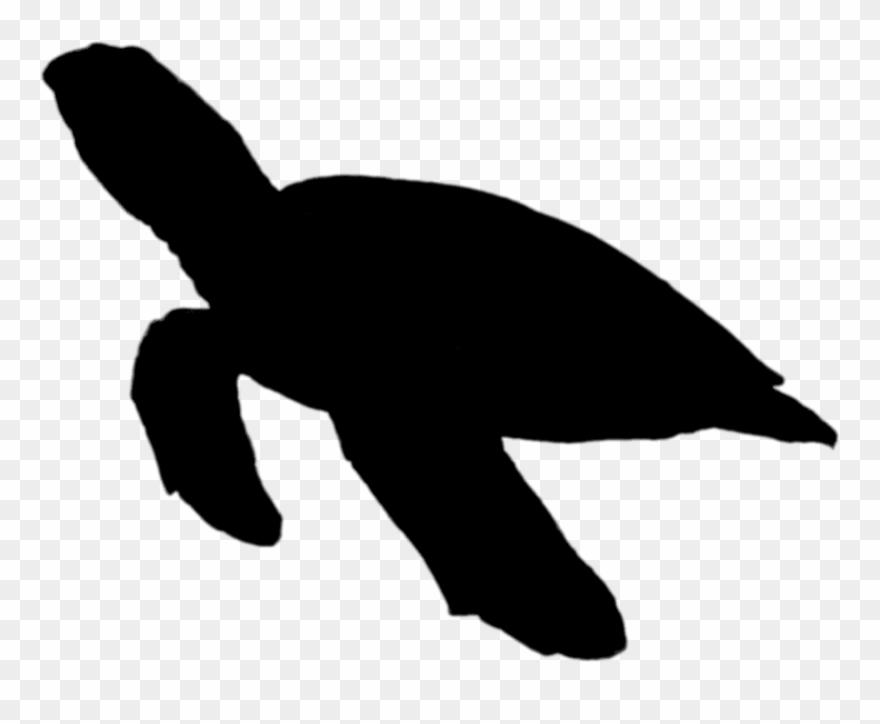 Sea turtle silhouette clipart library Seas Ilhouette Sea - Sea Turtle Silhouette Png Clipart ... library