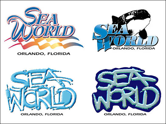 Sea world logo clipart jpg black and white download Sea World Logos jpg black and white download