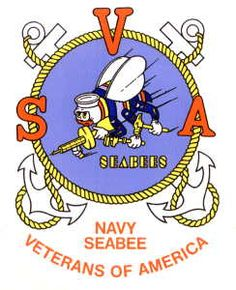 Seabee logo clip art banner free WWII Seabees Enlistment Poster Logo USN Navy Sea Bees Tin Metal ... banner free