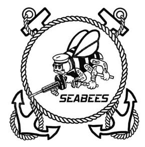Seabee logo clip art picture black and white stock Seabee logo clip art - ClipartFest picture black and white stock