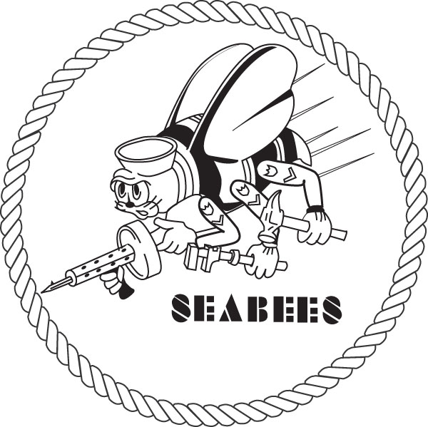 Seabee logo clip art svg free Gallery For > US Navy Logo Clipart Black and White svg free