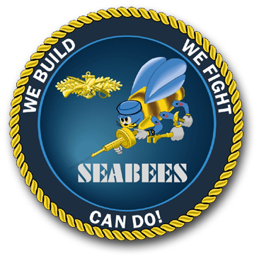 Seabee logo clip art clipart Items on this page are from the internet or scanned by me clipart