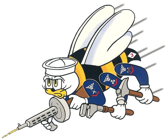 Seabee logo clip art image library download Seabees logo to honor the other half of my Dad's service career ... image library download