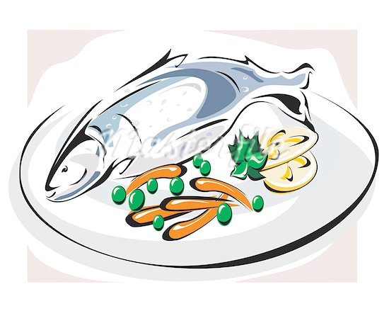 Seafooddinner clipart banner freeuse stock Fish dinner clipart 3 » Clipart Station banner freeuse stock