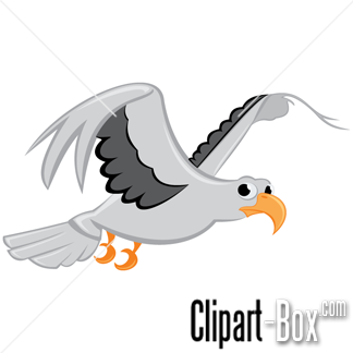 Seagull clipart free png transparent download CLIPART FLYING SEAGULL | Hot air balloon | Vector free ... png transparent download