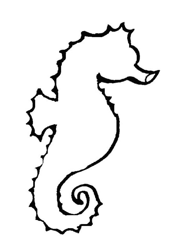 Seahorse clipart outline vector download Free Sea Horse Outline, Download Free Clip Art, Free Clip ... vector download