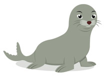 Seal images clipart vector black and white download Free Seal Clipart - Clip Art Pictures - Graphics - Illustrations vector black and white download