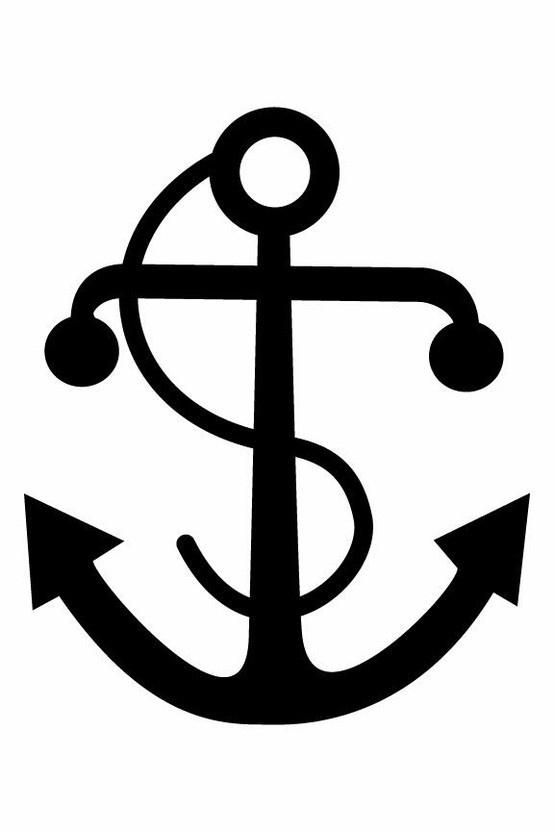 Seaman logo anchor clipart banner stock Silohuette stuff - Clip Art Library banner stock