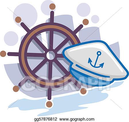 Seaman logo anchor clipart clip royalty free library Clip Art - Seaman icon. Stock Illustration gg57876812 - GoGraph clip royalty free library