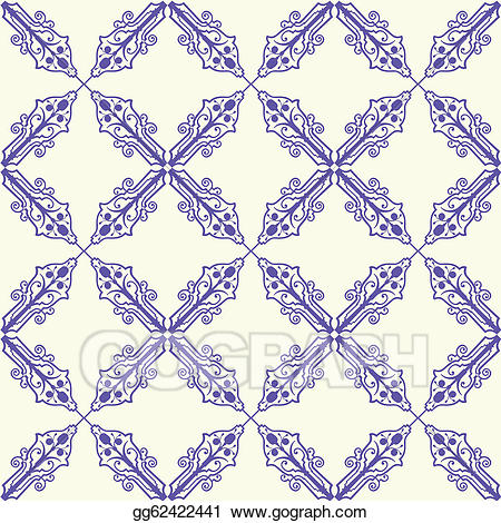 Seamless tile clipart image royalty free stock EPS Illustration - Seamless tile pattern. Vector Clipart ... image royalty free stock