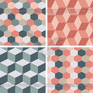 Seamless tile clipart image library Seamless tiling patterns - geometric - vector clip art image library