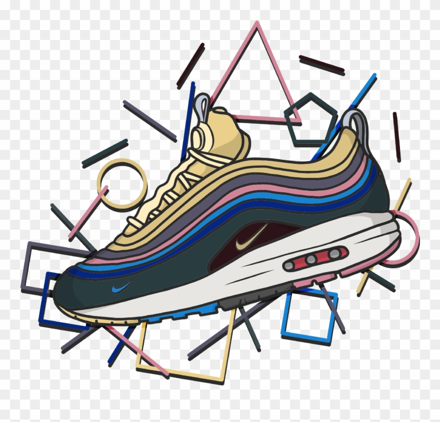 Sean clipart graphic free library Wotherspoon - - Air Max 1/97 Sean Wotherspoon Clipart ... graphic free library