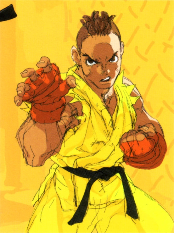 Sean matsuda clipart jpg black and white Sean Matsuda (Street Fighter) jpg black and white