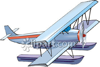 Seaplane clipart svg transparent library Hydroplane and seaplane clipart image | Clipart.com svg transparent library