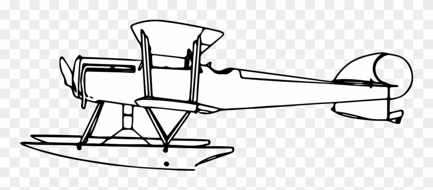 Seaplane clipart svg free download Airplane Seaplane Biplane Ad Flying Boat Supermarine ... svg free download
