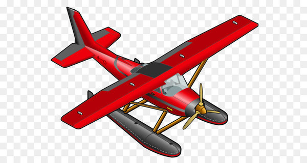 Seaplane clipart vector royalty free Airplane Aircraft Clip art - Red Plane Transparent PNG ... vector royalty free