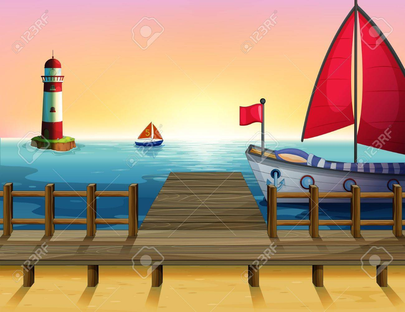 Seaport clipart jpg transparent library Seaport clipart 8 » Clipart Portal jpg transparent library