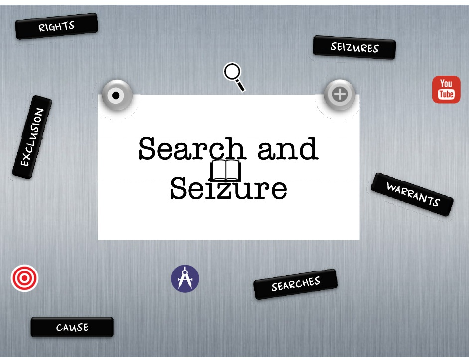 Search and seizure clipart jpg royalty free download Amendment 4 Search & Seizure - ThingLink jpg royalty free download