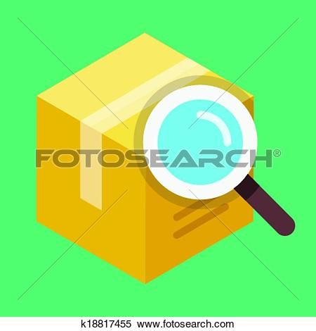Search box clipart clipart library Clipart of Vector Search Box Icon k18817455 - Search Clip Art ... clipart library