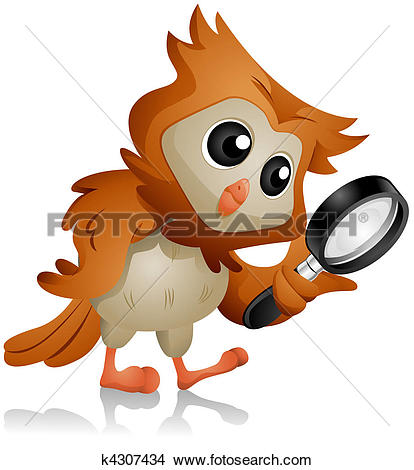 Search clipart image stock Clip Art of Little Boy holding a Magnifying Glass 2 k14313028 ... image stock