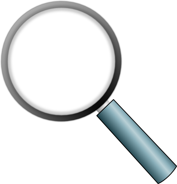 Search clipart transparent background clip free download Transparent Magnifying Glass Clip Art at Clker.com - vector clip ... clip free download